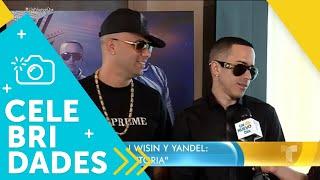 ¡Wisin y Yandel cuentan sus planes para el próximo año!   Un Nuevo Día   Telemundo