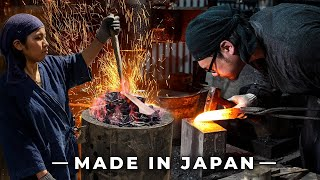 How Japanese Knives Are Made With Japan's RAREST Steel