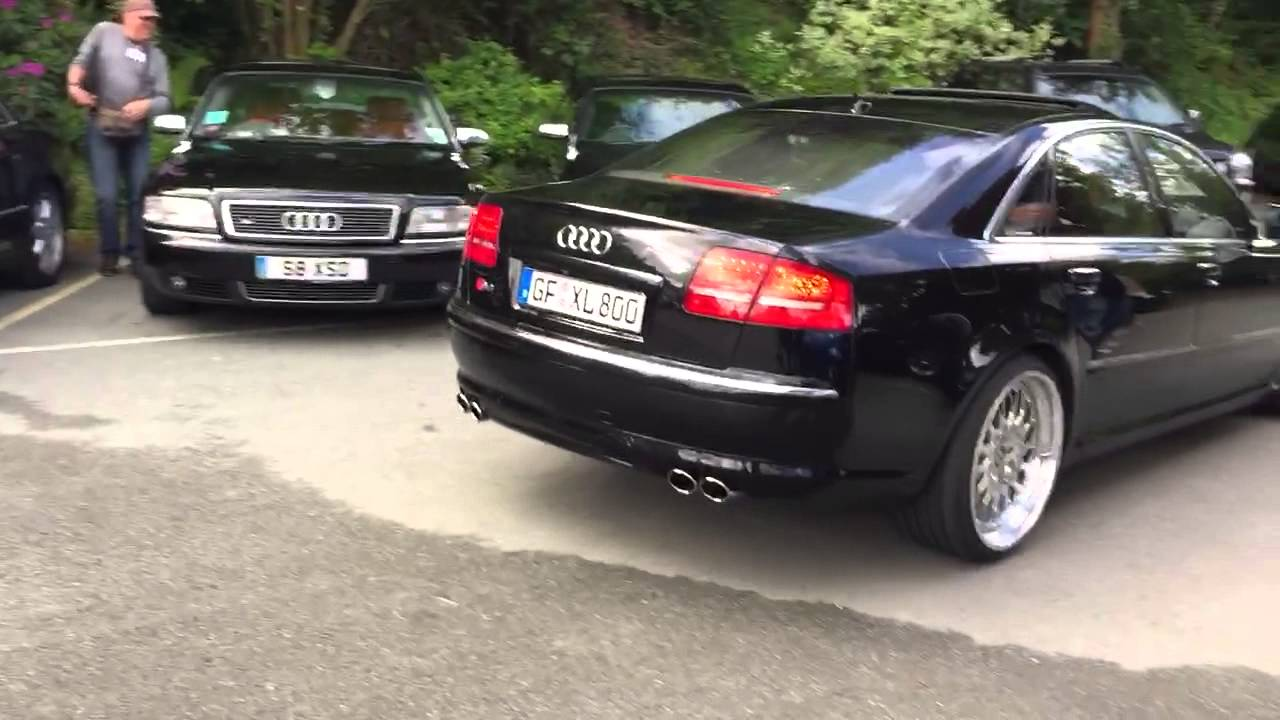 Audi S8 D3 5.2 V10 - YouTube