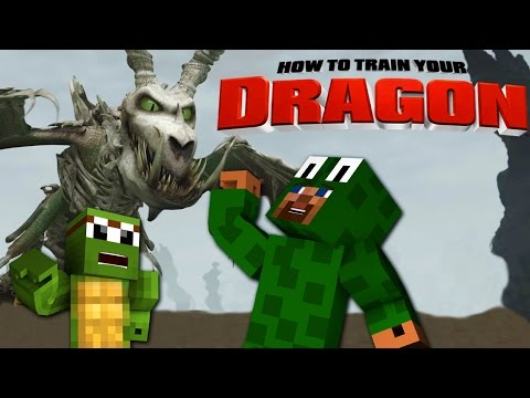 Minecraft - HOW TO TRAIN YOUR DRAGON 2 - [13] 'Saving TinyTurtle'