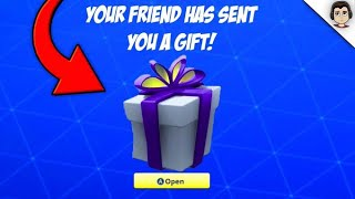 HOW TO GIFT SKIN & ITEMS in Fortnite! Fortnite GIFTING SYSTEM RELEASE DATE! (Fortnite Battle Royale)