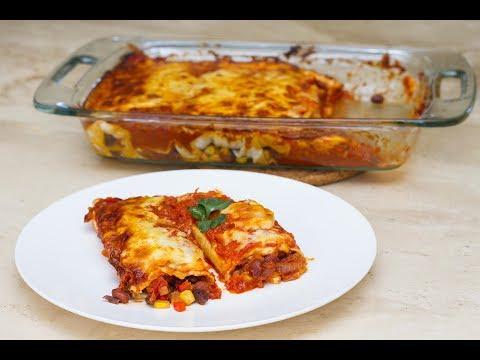 Elise's Eats – Ep 121: Vegetarian Enchiladas