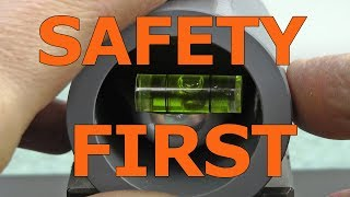 Safety First - Home Shop Improvements