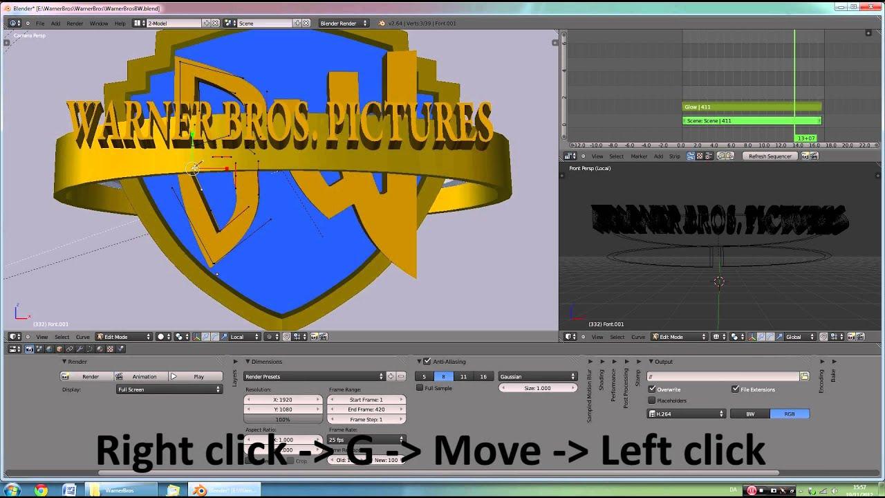 TUTORIAL: Warner Bros Intro HD - YouTube