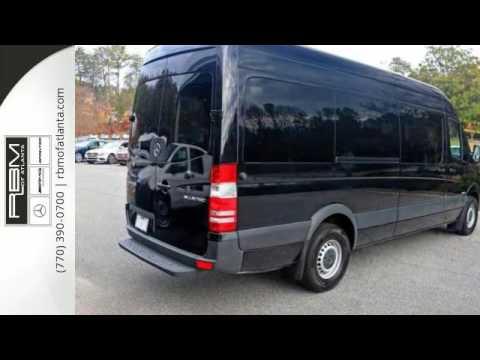 New 2016 mercedes benz sprinter passenger vans atlanta ga for Mercedes benz sandy springs
