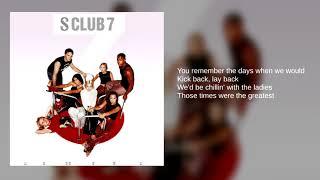 S Club 7 05 Best Friend Lyrics Youtube