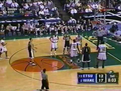 ETSU vs Wake Forest - 2003 NCAA Tournament - Pt 3