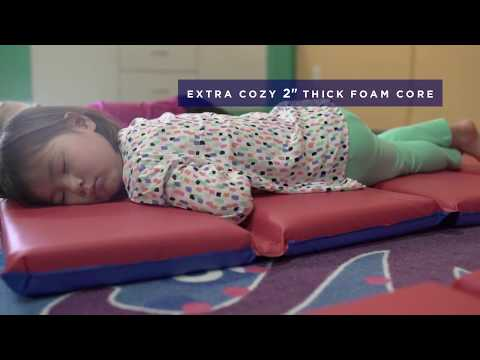 ECR4Kids Heavy-Duty Folding Rest Mat