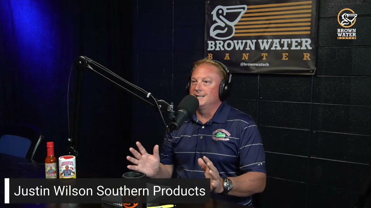 Ep 77| Ken KC Conn from Justin Wilson Southern Products #brownwaterb