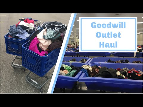 200lb Goodwill Outlet Bins Haul To Resell On Poshmark | Part 1