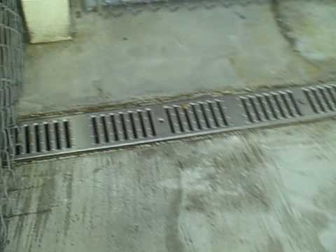Drainage Inside Kennels Youtube