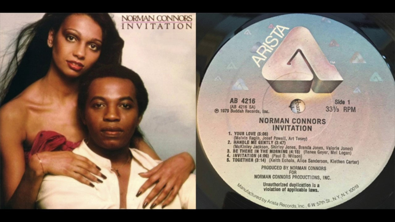 Norman Connors Invitation Youtube