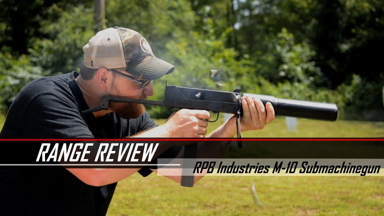 RPB MAC-10 Submachine Gun