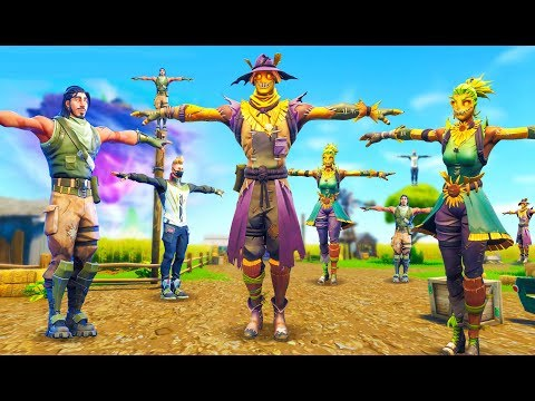 When 100 Players Stand Still In Fortnite!