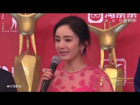 Wallace Huo on the Shanghai Film Festival red carpet