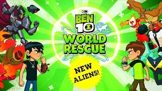 BEN 10: WORLD RESCUE #2 - EPIC 1VS1 - FINAL FIGHT (THREE BOSSES) - CARTOON NETWORK GAMES