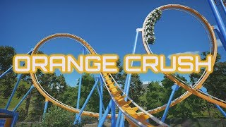 Planet Coaster - Orange Crush - Ride Overview