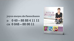 Deutsche Bücher und DVDs von Joyce Meyer