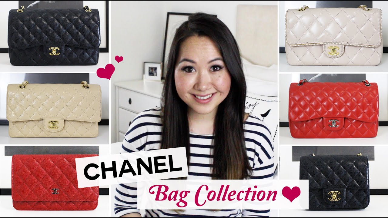 77d2c64fb146 Entire Chanel Handbag Collection | Chase Amie - YouTube