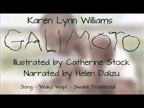 Mrs. Dalizu reads Karen Lynn Williams'