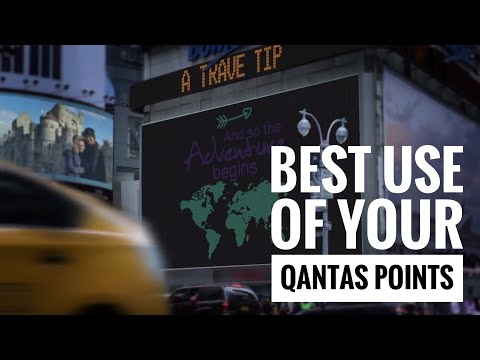 Best Way To Use Qantas Points, How To Use Qantas Points