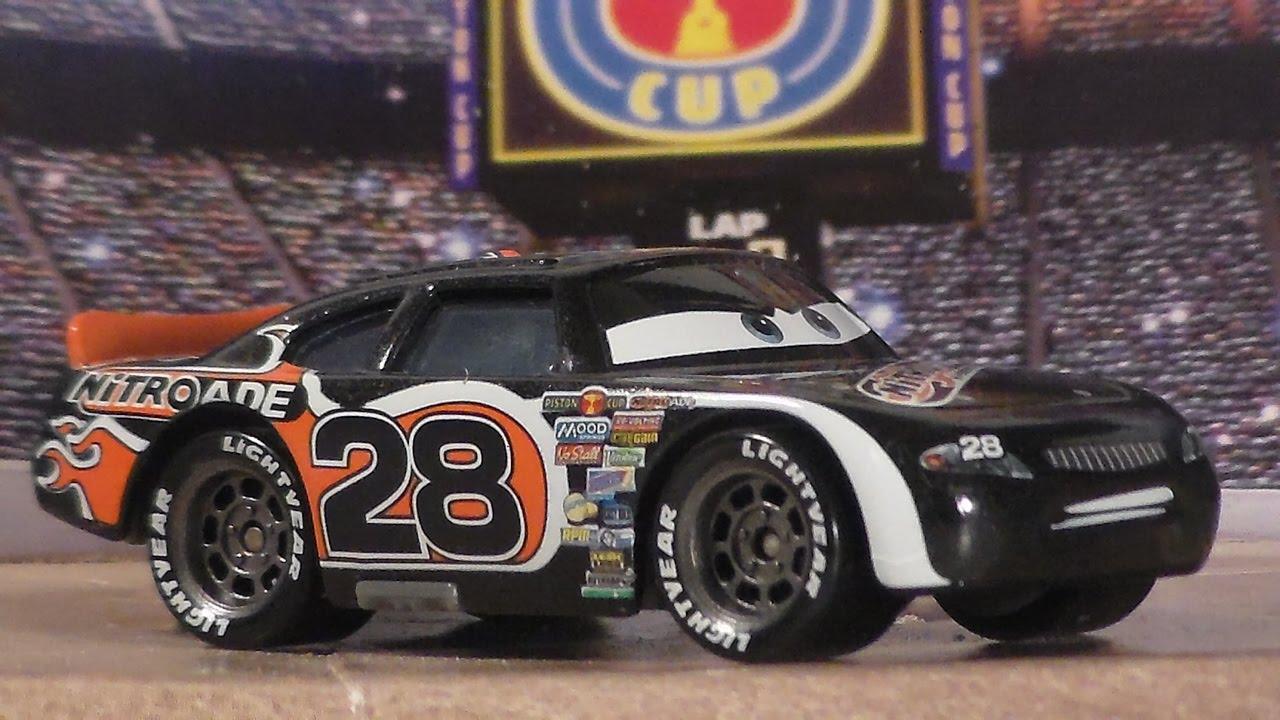 Aiken Axler Nitroade No 28 New 2016 Cars Mattel Piston