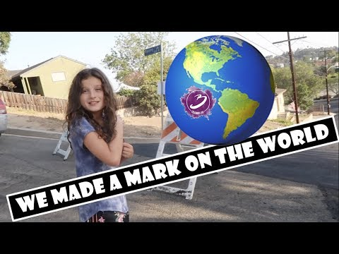 We Made a Mark on the World 🌎 (WK 392.7) | Bratayley