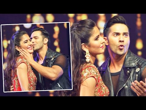Varun Dhawan KISSES Katrina Kaif At Dream Team Concert 2016