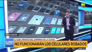A partir de hoy empezarán a bloquear los celulares robados