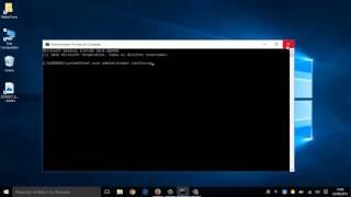 Ativar ou desativar a conta de administrador no windows 10