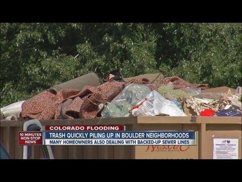 Flood Fallout: Boulder Battles Overflowing Trash, Sewage