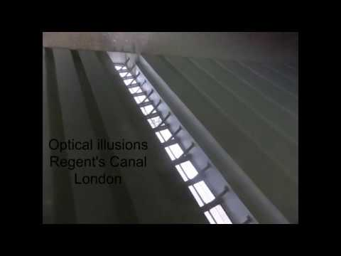 Optical Illusions - Regent's Canal, London