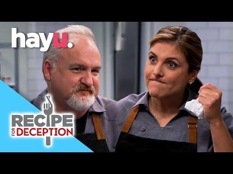 Celebrity Chefs Compete - Lorena Garcia VS Art Smith | Recipe For Deception