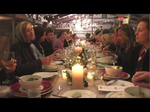 The Table -- A Recipe for Good Food and Conversation