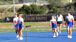 Junior All American Hacienda Heights Cougar Cheer Pee Wee Comp 12 19 2009.AVI