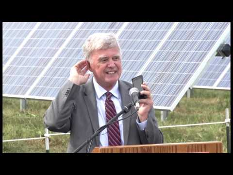 LES SunShares Solar Facility Dedication