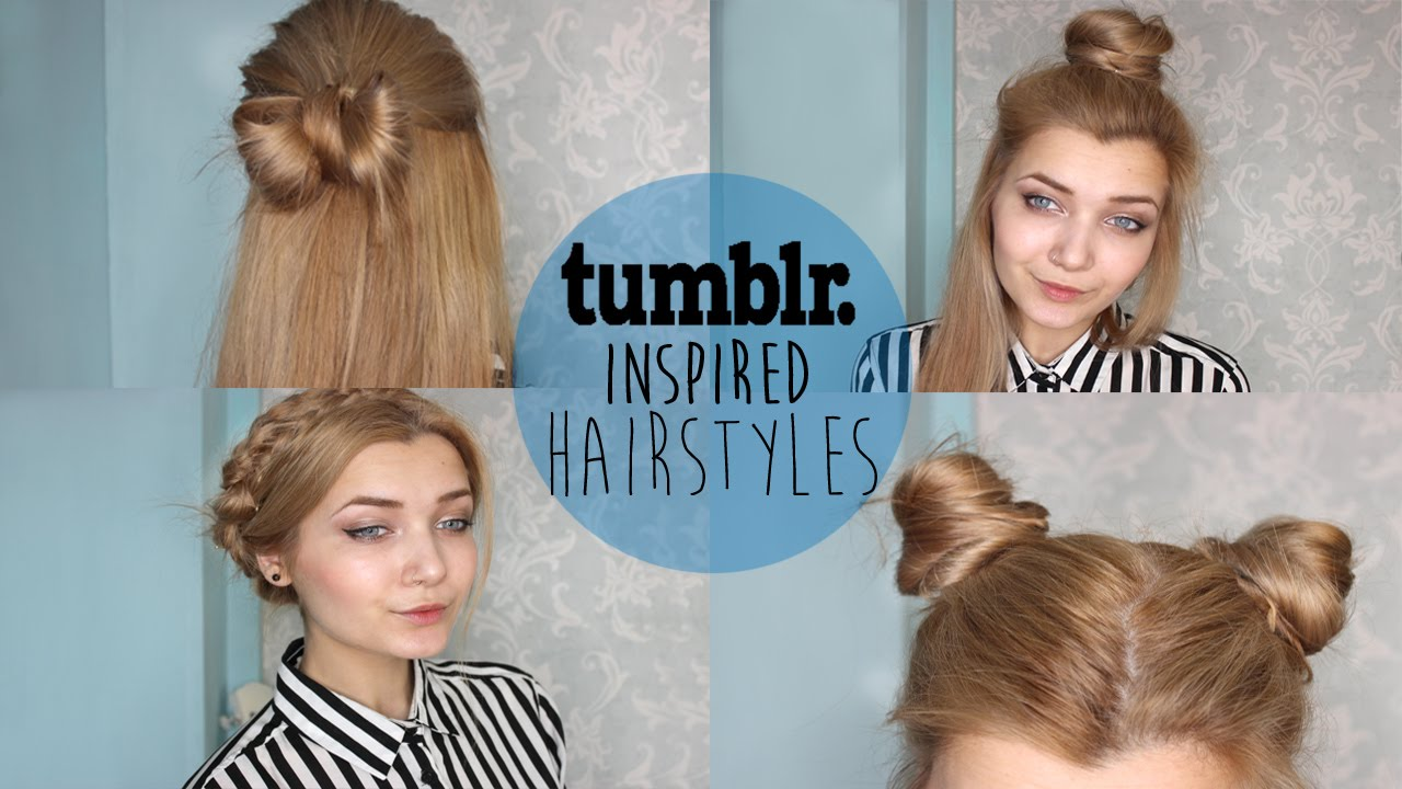 ☽ tumblr inspired hairstyles ☾ - youtube