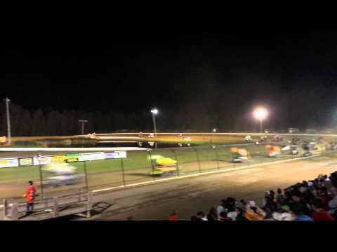 Rolling Wheels Raceway Empire Super Sprints A Main Start