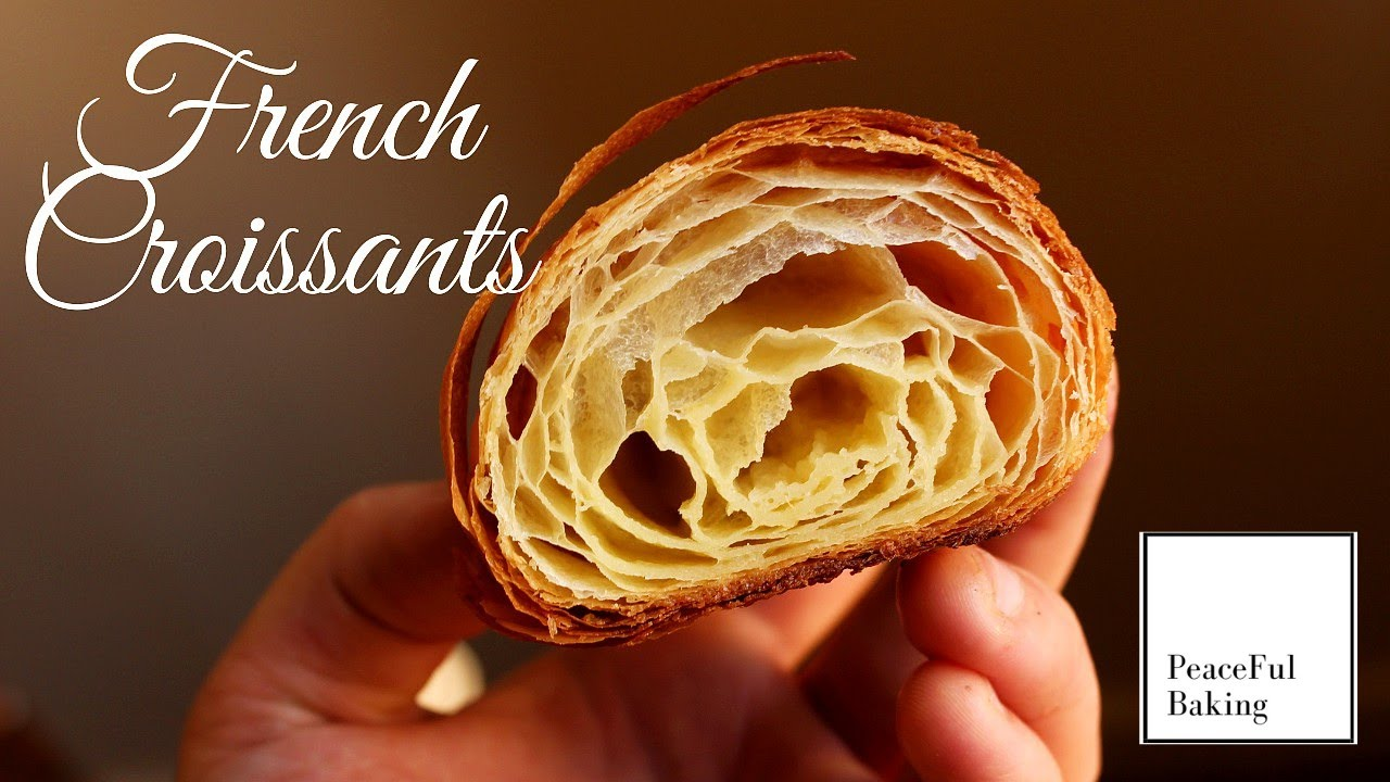 How to Make Croissants at Home (ASMR) |Completely By Hand