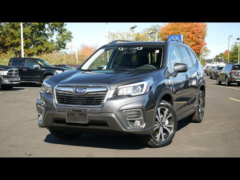 2020 Subaru Forester Limited Review - Start Up, Revs, and Walk Around