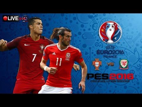 [สดก่อนบอลเตะ] PES Euro 2016 เวลส์ 5 - 5 โปรตุเกส ,ต่อเวลา,ยิงจุดโทษโคตรดราม่า
