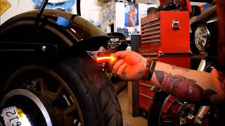 Gambar cover How To Install Run Brake Turn LED Lights on a Harley