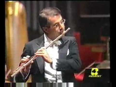 W.A. Mozart - Concerto in do magg. k 299 - Flauto: Bruno Cavallo