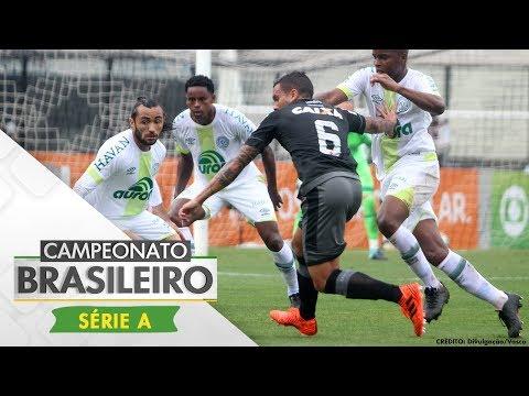 Melhores Momentos - Vasco 1 x 1 Chapecoense - Campeonato Brasileiro (30/09/2017)