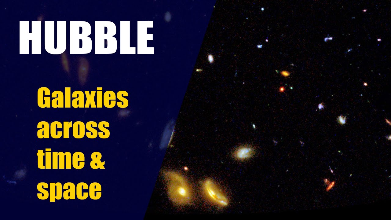 HUBBLE SPACE TELESCOPE Galaxies Across Space And Time K Short - Amazing videos hubble telescopes yet