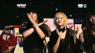 Repeat youtube video 2NE1[Live] 2010 Mnet Asian Music Awards