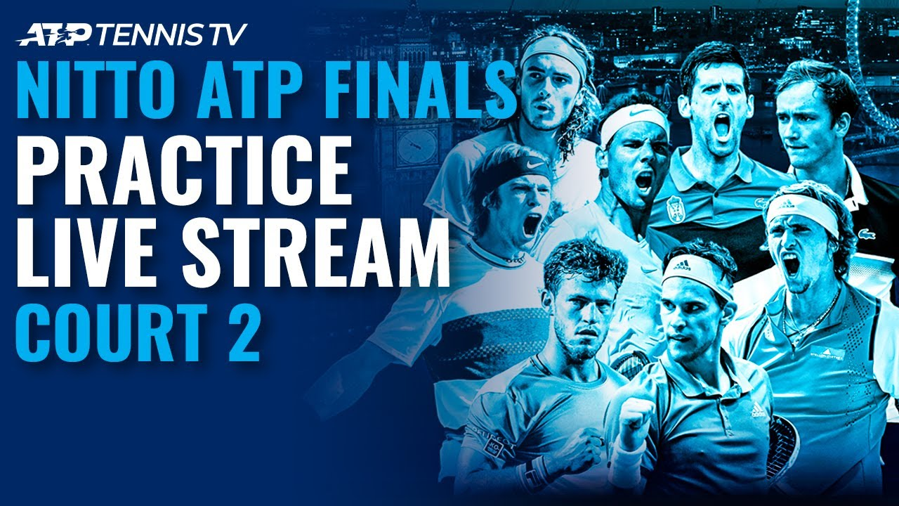 2020 Nitto ATP Finals: Live Stream Practice Court 2 (Thursday)