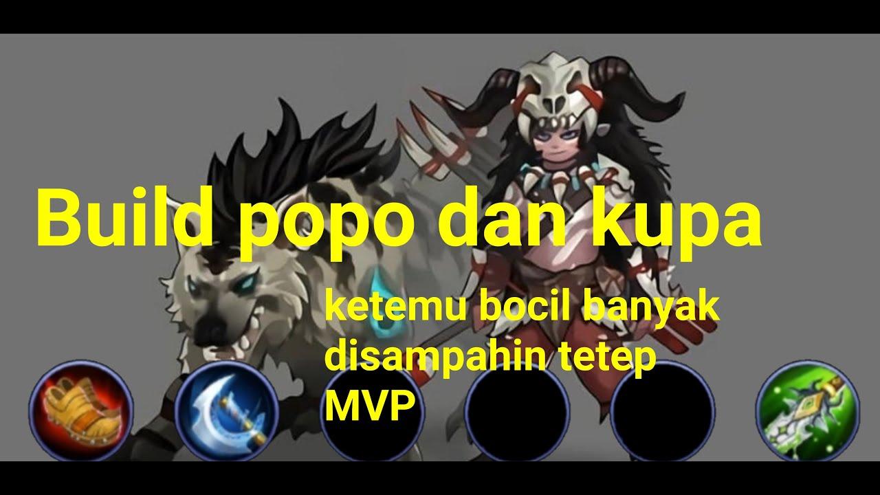 Build Popol Dan Kupa Review Pertama Ketemu Bocil Tetep MVP