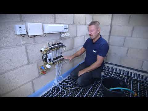 Step 1- How to fill an Uponor Underfloor Heating System