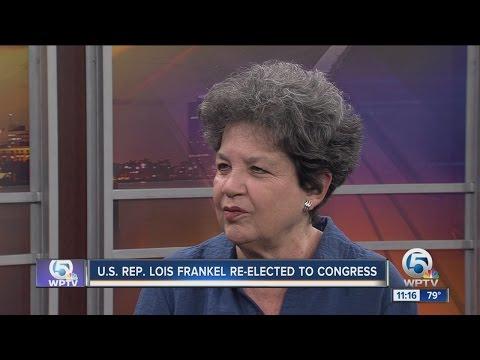U.S. Rep. Lois Frankel re-elected to Congress